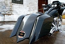 Nice Harley-Davidson Road-Glide Bagger