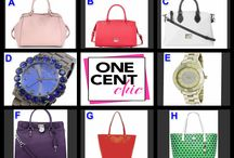 SUPER TUESDAY - Designer Fashion on First at OneCentChic Tuesday April 22 at 10 PM ET / Designer Bags and Watches in a Great Choice Auction Win these items for over 90% off retail at OneCentChic.com