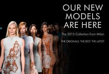 Milan 2015 Collection / The Originals. The Best. The Latest. The 2015 Collection from Milan. Now for the first time in India.