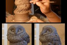 Sculpting. .