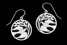 The Earthsong Collection / Fine pewter jewelry designed and made in Portland, Maine by Lovell Designs.