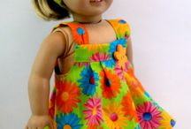 Dolls clothes and costumes