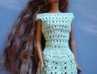 Crochet Barbie clothes / by Charlotte Saucier