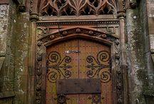 Doors / Different doors, wooden, upvc doors, and unusual doors