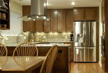 Our Kitchen Designs / Designed and built by DreamMaker Bath & Kitchen Colorado Springs.  Give us a call today at 719-636-2444