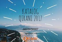 Qirani 2017 / agenqirani.com merupaka produsen busana muslim terlengkap di Indonesia. Pemesanan busana muslim trendy dan syar'i hubungi   Nanda CS 1 Qirani  :  SMS: 0857-3173-0007 Whatsapp: +6285731730007 BBM: 536816F7