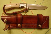Leather work / Mis trabajos en cuero