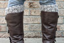Crochet - Boot Cuffs