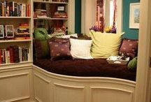 """Home Library / My absolute favorite """"room type"""" in a House."""