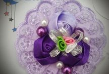 Ribbon Brooch