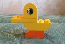 Лего Дупло (Lego Duplo) / Наши детки собирают из Лего Дупло (Lego Duplo) разные штуки. Можно посмотреть и повторить со своими детьми. Заходите!