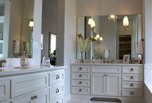 Beautiful bathroom cabinets