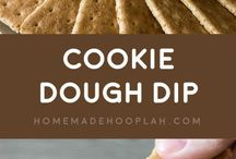 Sweet dips for crackers, pretzels and such