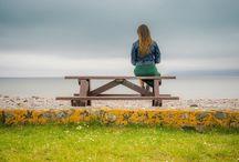 Steven Cox Instagram Photos Beauty and the Sea. Last year. Ireland.  #ireland #ocean #balance