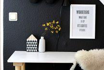 Büro Ideen / Einrichtungsideen und DIYs für euer Arbeitszimmer