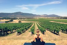 Yoga in the vineyard / Yoga at Mount Langi Ghiran, a day for your sense. Treat yourself to a day of well being!  Indulgence and relaxation, the ultimate Saturday getaway combining a picture perfect location with an inviting yoga session, savouring iconic wines with mouthwatering local produce.   Mount Langi Ghiran and talented yoga teacher Megan Elizabeth (RYT500) of MERA|BARE along with Red Rock Olives, invite you to fulfilling sensorial experience.