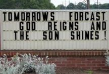 Here's Your Sign. / Church billboards can be funny and convicting too.