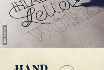 Typography / Typography that inspires me.