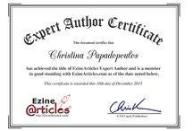 Certificate / Certificate