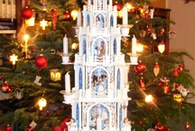 gotische Weihnachtspyramiden