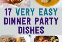 Cooking:diner party