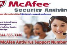McAfee Antivirus Support Number 1-844-855-3346 Helpline Number
