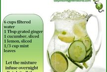 Detox Waters and Drinks