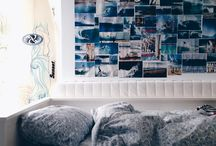 House ideas / This is a moodboard about how my house will be, colors, shapes, furniture, spaces.