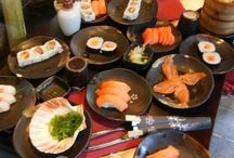 Food / I like eating out: here you may find some of the pics of my favourites restaurants, sushi bar, cafe, pizza