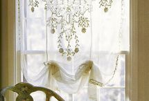 lace curtain ideas