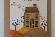 Fall cards / by Doug Parish