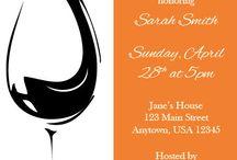 The Bond wedding invitation