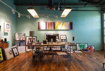 Workspaces / Creative workspaces