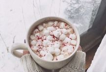 winter time / It is here, with white snow. Just say cheers to that cold.