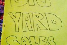 Garage Sale Signs / The best garage sale signs on the interwebs!