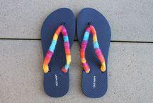 slippers verzieren