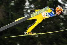 スキージャンプ♡
