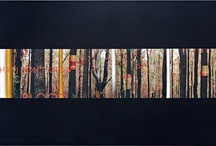 "Ian Waldron: ""Into the Woods"" paintings"