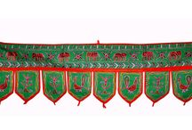 """WALL HANGING www.artingle.com / """"Lord Ganesha Decorative Handcrafted Toran Window Valance Door Tapestry-On this Product Details Page, You Can Find Comprehensive and in-Depth Lord Ganesha Decorative Handcrafted Toran Window Valance Door Tapestry You can Contact the Supplier for More indian tapestries hanging homes diy hanging interior doors,toran-door-hangning  Product, Price."""
