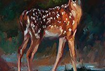 acrylic paintind