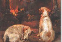 Hunde in der Kunst / Dog paintings