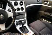 Alfa Romeo 159 / Alfa Romeo 159 - Wrapping Modanature Interne Acciaio Spazzolato 3M