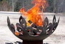 John T Unger Sculptural Fire Bowls / by Frontera Furniture