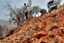 Mit dem 4x4 in Namibia / Namibia ist ein Traumland, um mit einem Allrad das Land zu erkunden.