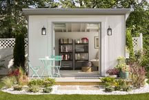 She Shed / Inspiration for my she shed that I will maybe have one day in the future
