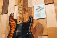 Fender NAMM 2017 — Custom Shop / Check out some beautiful 2017 Custom Shop highlights, including the Master Builder Prestige Collection, Custom Shop Founders' Collection, and more.