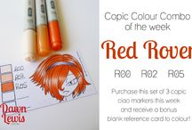 Crafts - Copics - CakeandEnemy Color Combinations / Copic Marker Color Combinations / by Debbi Logan