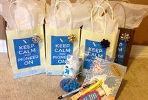 Pioneer gift bags