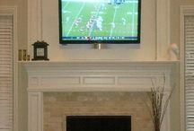 fireplace surrounds / by Elizabeth Londino Whiddon