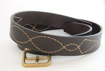 Western belt - cowboy leather belt